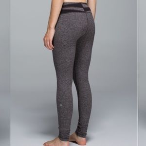 Lululemon Wunder Under Pant Giant Herringbone Luon